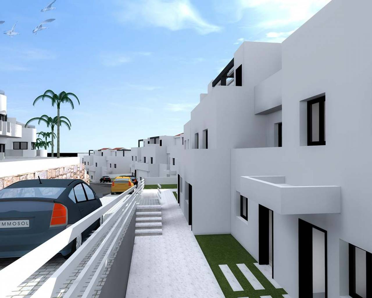 New Build - Townhouse - Alicante - Benidorm
