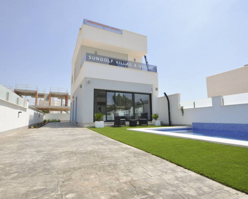 Ref:MEDSGV001 Detached Villa For Sale in Pilar de la Horadada